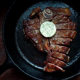 Sunday Steak with French Butter