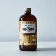 Spicy Ginger Shrub