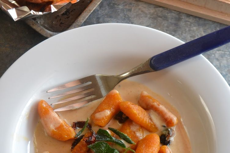 Butternut squash and Yam Gnocchi
