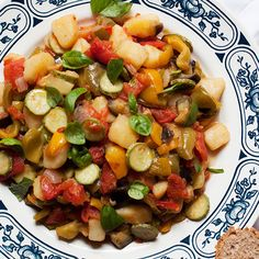 Tuscan Summer Vegetable Stew (Gurguglione di Elba)