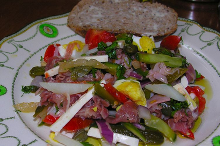 """PAPARA?-KVIETKA"" or Flower Fern Salad with some twists"