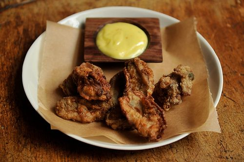 Fried oysters from Food52