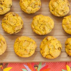 Savory Pumpkin Muffins with Chicken Sausage