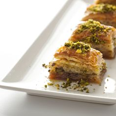 Pistachio and Date Bakalva