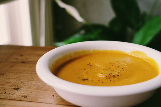 Sweet Potato & Butternut Squash Soup