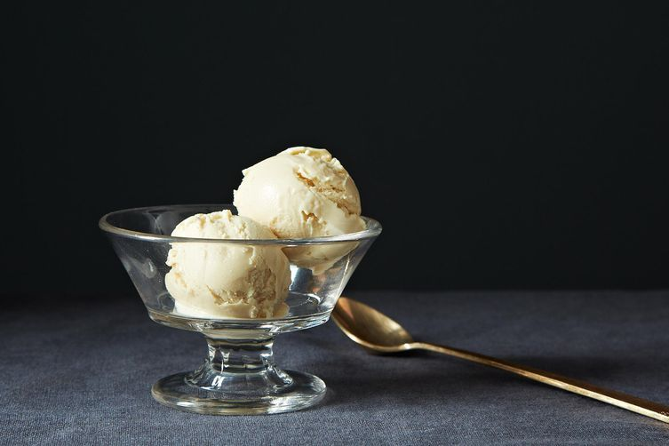 Rosemary Honey Lemon Sorbet