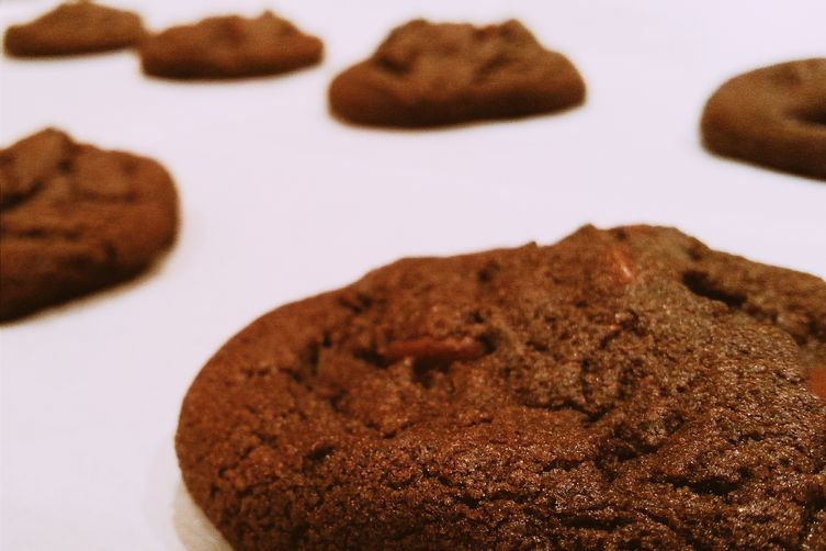 Brown Butter-Mocha Cookies