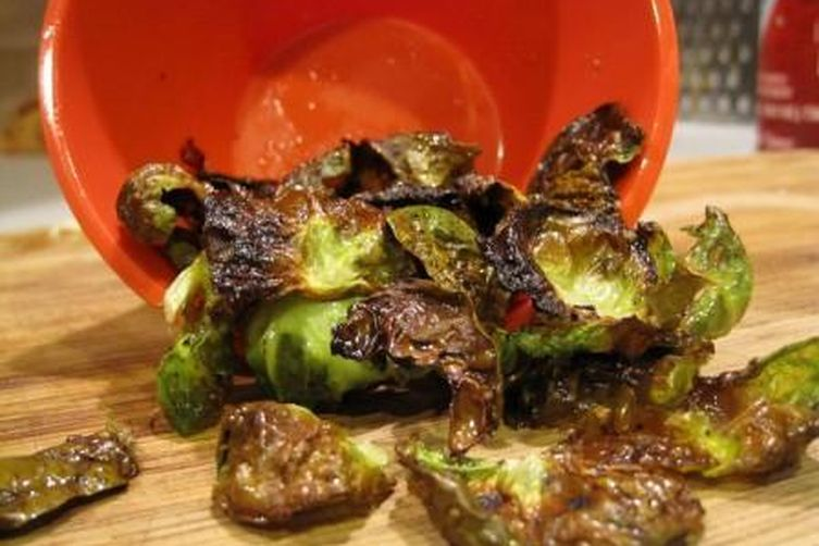 Tangy Brussels Sprout Chips
