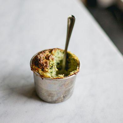 Zucchini Soufflés