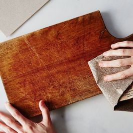 Cutting board care by Aly Waterfall
