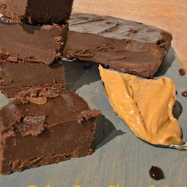 Dairy-free Chocolate Peanut Butter Fudge