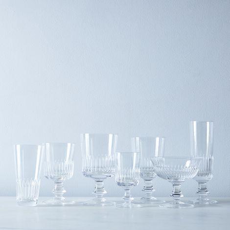 Close Ribs Vintage Italian Crystal Glassware