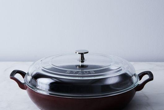 Food52 x Staub Multi-Use Braiser with Glass Lid, 3.5QT
