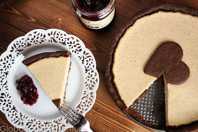 Gingerbread Ricotta Tart