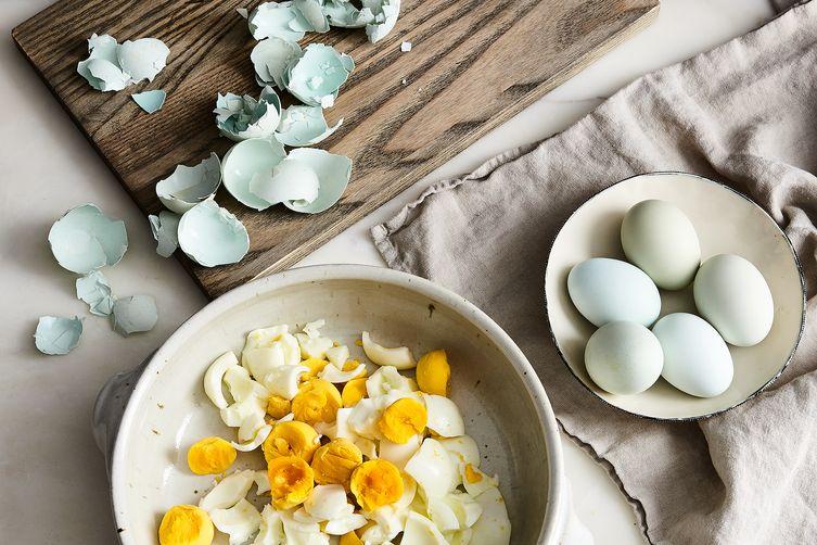 Nancy Silverton's Egg Salad with Bagna Cauda Toast