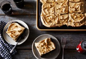 Coke & Peanut Butter Sheet Cake Is Salty, Sweet & Southern