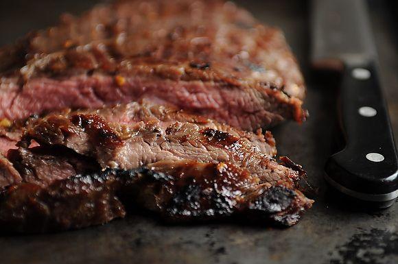 Sugar Steak with Bourbon