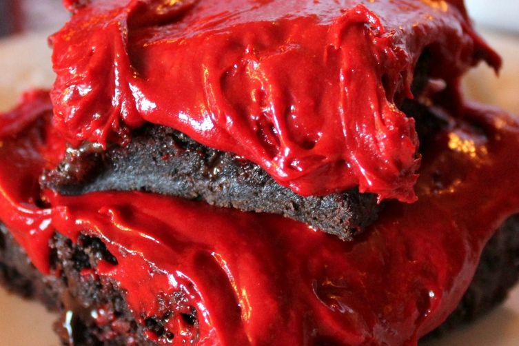 Scarlet Brownies!