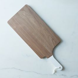 Dipped White Walnut Serving Board
