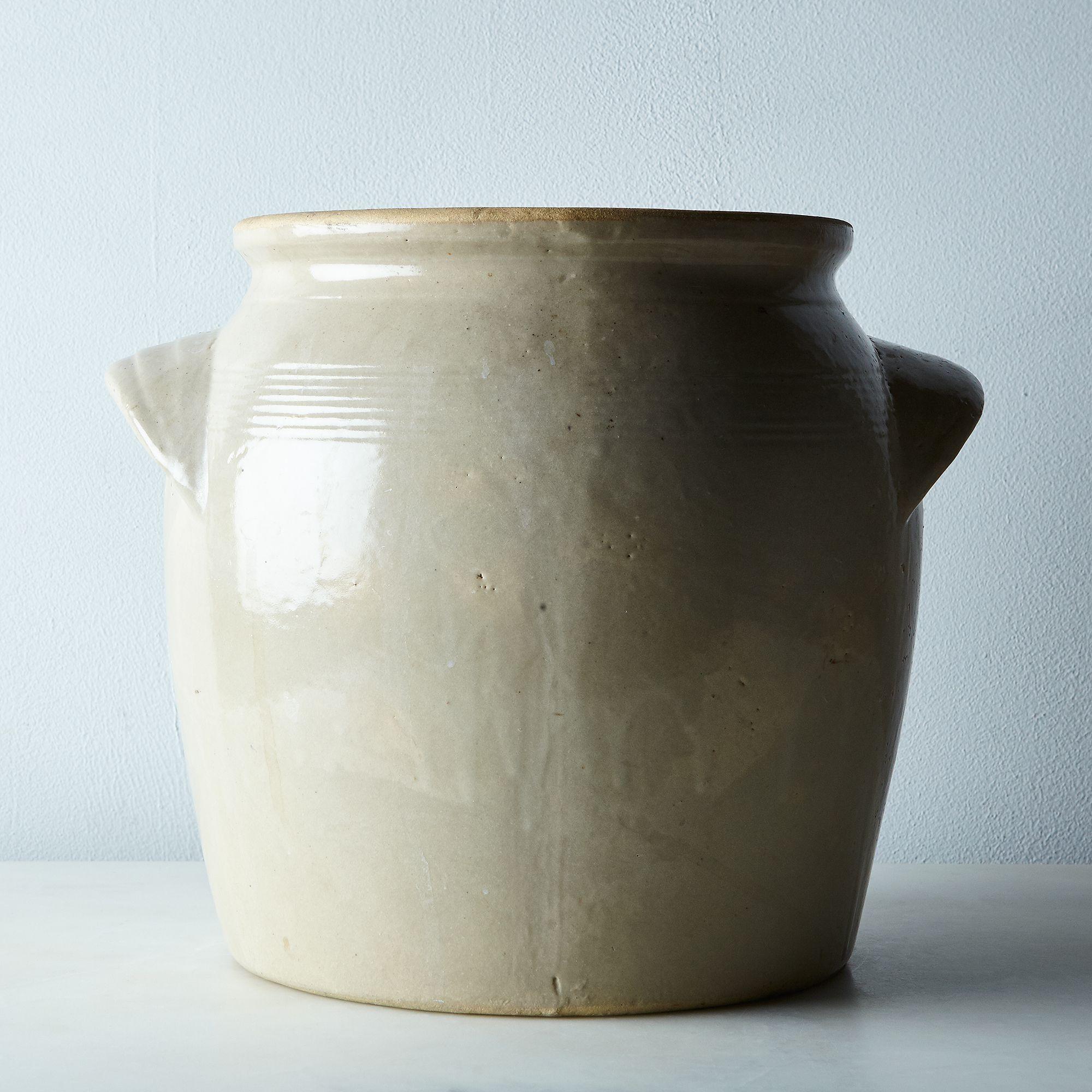 2482f2c9 7ec5 46a6 95e9 a6442312a448  2016 0223 food52 vintage shop vintage stoneware crock large silo rocky luten 002