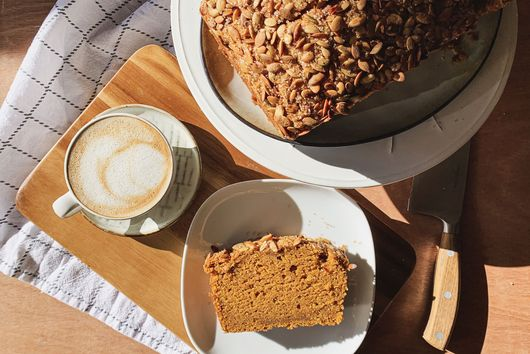 Vegan Spiced Pumpkin Bread