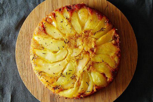 Rosemary Pear Cake