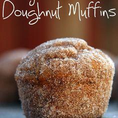 Dirty Chai Doughnut Muffins