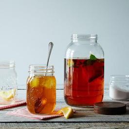 Hand-Turned Half Gallon Jar