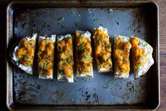 ABC Kitchen's Butternut Squash on Toast