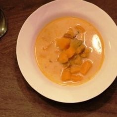 Chunky Butternut Squash and Potato Soup
