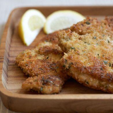 Herbed Chicken Cutlets