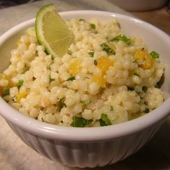 Herbed Couscous with Apricots