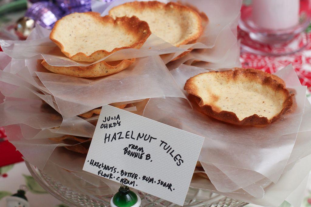 Hazelnut Tuiles on Food52