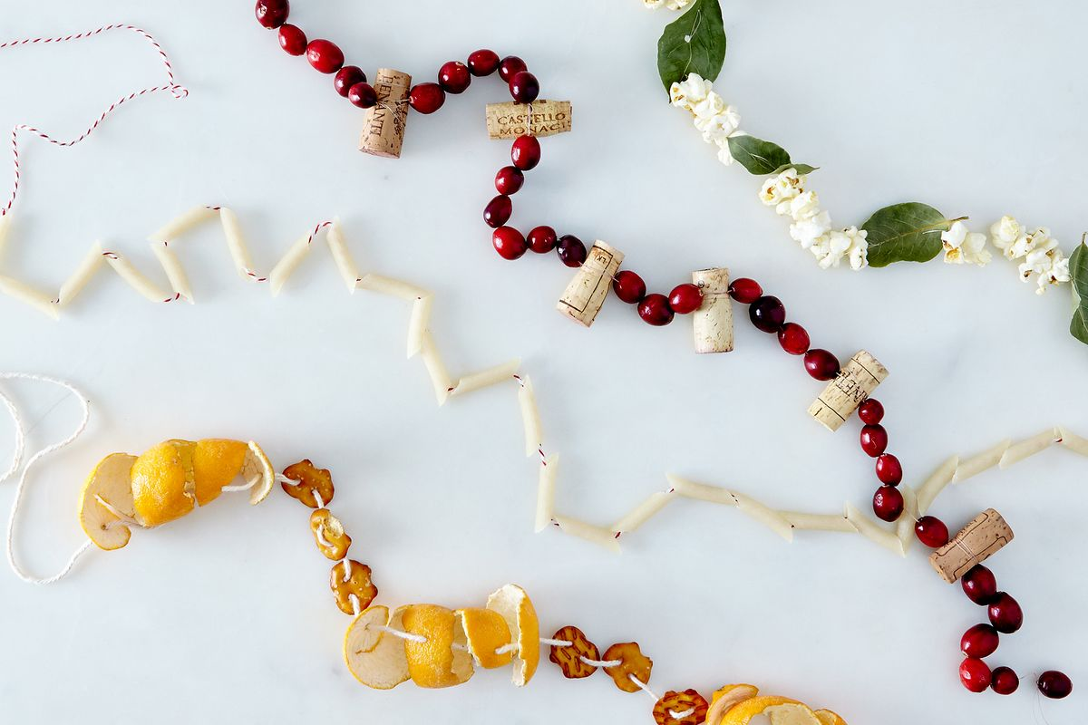 The best ways to string garlands you can make from