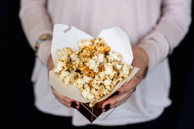 Harissa-Spiced Popcorn