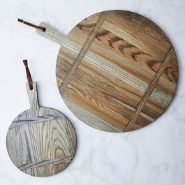 Ash Round Bread Board