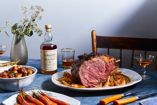 Gochujang-Glazed Holiday Rib Roast