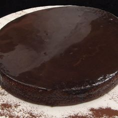 Chocolate and Cabernet Sauvignon Italian Cake