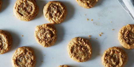 And the one ingredient for the nuttiest cookies of them all