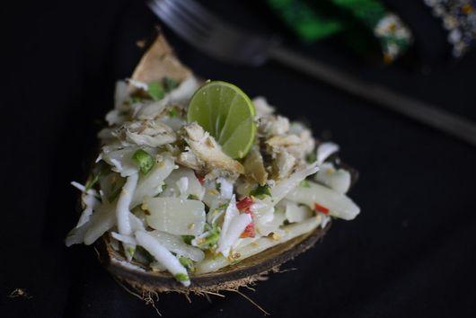 Cassava & Coconut Salad