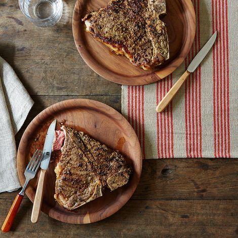 Reclaimed Wood Steak Knives (Set of 4)