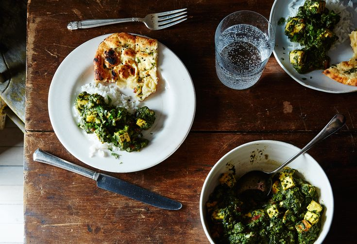 Vegan Palak Paneer Will Turn Tofu Naysayers into Enthusiasts
