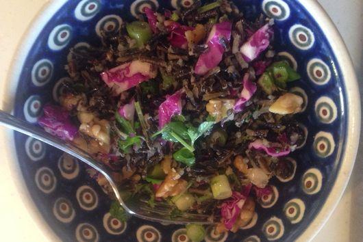 Jenn's Wild Rice Salad with Scallions