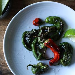Blistered Shishito Peppers