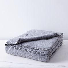 Pure & Simple Wool Blanket