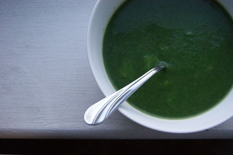 Nettle and Green Garlic Soup