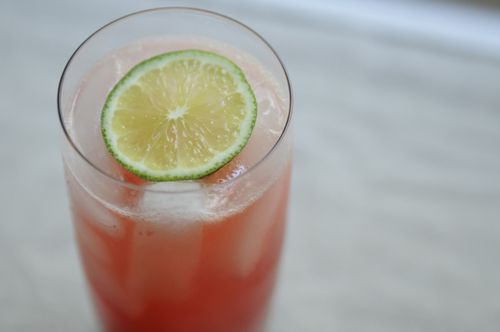 Retro Raspberry Lime Rickies from Food52