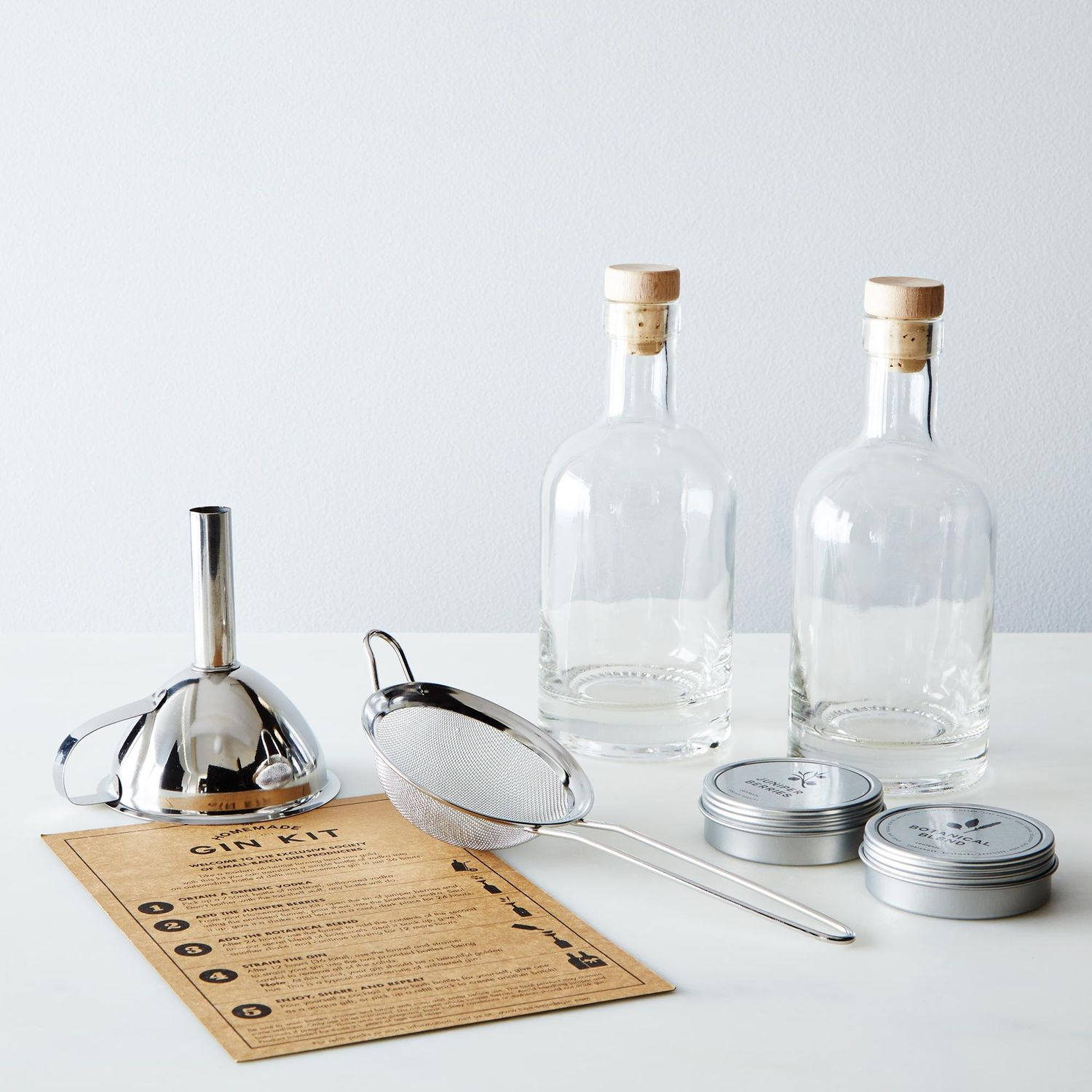 The Homemade Gin Kit on Food52
