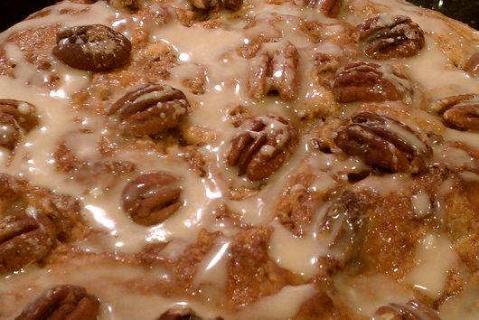 Spicy Chocolate- Pecan Coffee Cake