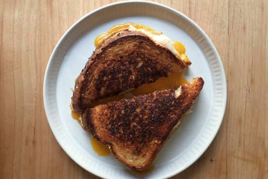 Deskside Grilled Cheese